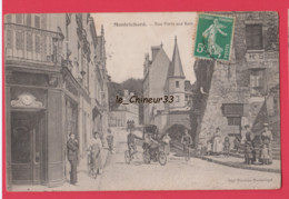 41 - MONTRICHARD----Rue Porte Aux Rois---animé - Montrichard