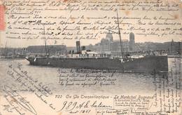 ¤¤ Cpa 1905 Maréchal Bugeaud , Paquebot De La Compagnie Transatlantique Dans Le Port De Marseille ¤¤ (¬‿¬) ♠ - Paquebots