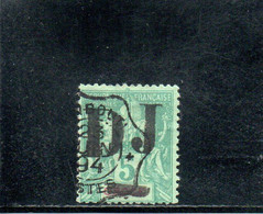 COTE DES SOMALIS 1894 O AMINCI-THINNED - Used Stamps