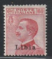 LIBYE - N°21 * (1916-22) 60 Rouge Carminé - Libya