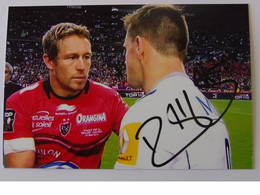 Rory KOCKOTT - Dédicace - Hand Signed - Autographe Authentique - Rugby