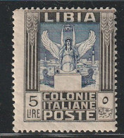 LIBYE - N°32 * (1921) 5 Lire - Libya