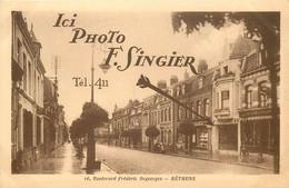 BETHUNE-photo Singier,16,boulevard Frédéric Degorges - Bethune