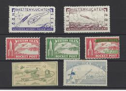 PAYS-BAS. YT  Vignette Fusée  Neuf *  1935 - Otros
