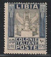 LIBYE - N°33 * (1921) 10 Lire : Défaut Pli En Coin - - Libya
