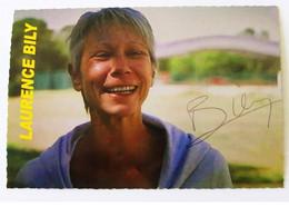 Laurence BILY - Dédicace - Hand Signed - Autographe Authentique - Athletics