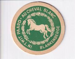 Bierviltje / Sous-bock / Bierdeckel / Coaster - In 't Wit Paard - Blankenberge - Bierdeckel