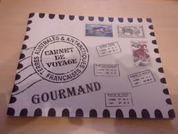 TAAF 2003 Poste N° 372/383 ** Carnet C372 Neuf MNH Superbe Carnet De Voyage Gourmand Cuisine Envoi 250gr + 20 Cent - Libretti