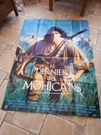 1992 Le Dernier Des Mohicans-affiche De Cinéma-format 120X160cm - Posters