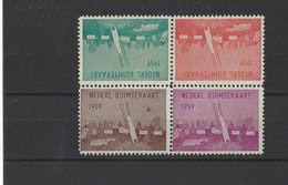 PAYS-BAS. YT  Vignette Fusée  Neuf **  1959 - Otros