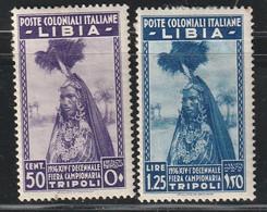 LIBYE - N°64/5 * (1936) Foire Exposition De Tripoli - Libya