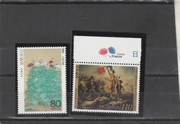 Japon 1998 Yvert  2437 Et 2438  ** Neufs Sans Charnière  - - Nuovi