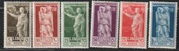 LIBYE - N°68/73 * (1938) L'Empereur Auguste - Libya