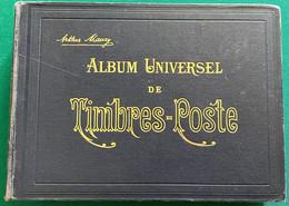 Album Universel De Timbres-Poste Maury 21ème édition  (1930?) - Vide - Asie Et Amériques - Unclassified