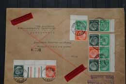 Deutsches Reich Germany Hindenburg Medallion Paare - Briefe U. Dokumente