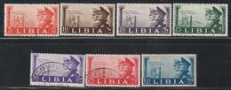 LIBYE - N°86/92 */obl (1941) Mussolini Et Hitler - Libya