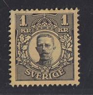 Sweden - 1910-1919 - 1k - Yv. 60 - MH - Neufs