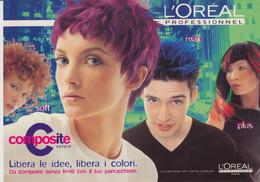 Pubblicità Advertising Cartolina Citrus N°0126 - L'OREAL PROFESSIONEL - Advertising