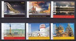 UNO UN ONU Vienna Wien 2020 World Heritage Russia Booklet Stamps  MNH*** - Nuevos