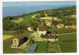 CPSM Champanges Près De Thonon Les Bains Haute Savoie 74 Colonie Les Alouettes Et Le Lac Léman éditeur J Cellard - Thonon-les-Bains