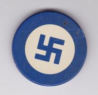 Jeton De Casino Bleu - Croix Gammée - Nazi - III Reich - Hithler - Casino