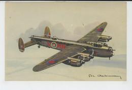 AVIATION - ILLUSTRATEUR PHILIPPE CHARBONNEAUX - N° 13 - Avion LANCASTER - 1919-1938: Between Wars