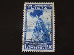 ITALIE ITALIA ITALY  Colonie LIBIE  1936 Oblitéré - Libya