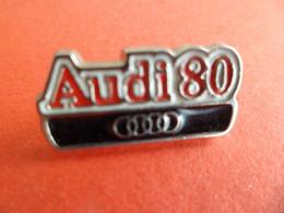 Pins Pin's émail - AUDI 80 - - Audi