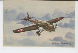 AVIATION - ILLUSTRATEUR PHILIPPE CHARBONNEAUX - N°4 - Avion AMIOT 143 - 1919-1938: Between Wars