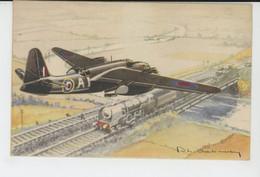 AVIATION - ILLUSTRATEUR PHILIPPE CHARBONNEAUX - N°16 - Avion BOSTON - 1919-1938: Between Wars
