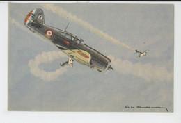 AVIATION - ILLUSTRATEUR PHILIPPE CHARBONNEAUX - N°8 - Avion CURTISS P. 36 - 1919-1938: Between Wars