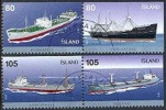 IJSLAND 2007 Vrachtschepen Serie GB-USED. - Gebraucht