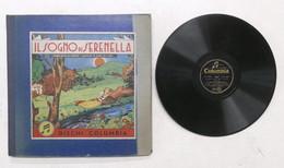 Il Sogno Di Serenella - Fiaba Di G. Musso - Cofanetto 3 Dischi Columbia - 1947 - Collezioni