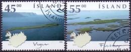 IJsland 2002 Eilande II GB-USED. - Gebraucht