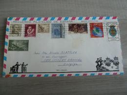 Enveloppe Affranchie De L'Espagne - Editions Recuerdo Filatelico De Espana - Année 1971 - - Colecciones