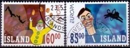 IJsland 2002 Europazegels GB-USED. - Gebraucht