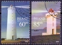 IJsland 2002 Vuurtorens GB-USED. - Gebraucht