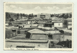 HARRAR - PANORAMA CON  PALAZZO DEL GOVERNO 1937  VIAGGIATA FG - Ethiopia