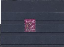 Used Stamp Nr.307 In MICHEL Catalog - Malta