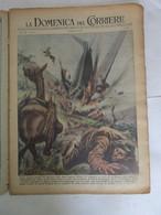 # DOMENICA DEL CORRIERE N 6 / 1953 PRECIPITA AEREO PRESSO ELMAS (SARDEGNA)  / MAU MAU KENYA - First Editions