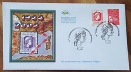 FDC 2004 - YT N°3716 - MARIANNE D'ALGER - PARIS - 2000-2009