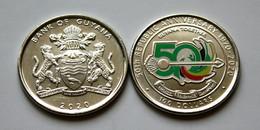 Guyana - 100 Dollars 2020 UNC 50 Years Of The Republic Lemberg-Zp - Guyana