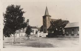 Mellery ,( Villers-la-Ville ), Photocarte ,  Vue Sur L'église ,Cachet De L'Abbé R. Devesse Curé - Villers-la-Ville