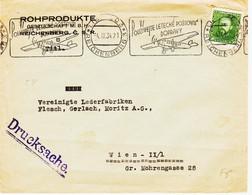 Tchecoslovaquie  De Reichngerg 3 En 1934, Aviation  Pour Wien   TB - Storia Postale