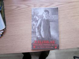 Kalendar Podmladak Crvenog Krsta 1937-1938 The Offspring Of The Red Cross  96 Pages Kralj Petar II Karadjoedjevic - Small : 1921-40
