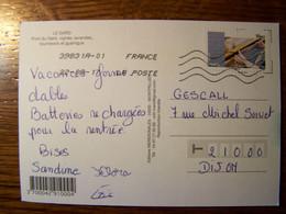 France - Sur Carte Postale - 2015 - N° YT 1076 - Le Gard - 1961-....