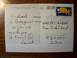 France - Sur Carte Postale - 2017 - N° YT 1478 - Pralognan La Vanoise - 1961-....