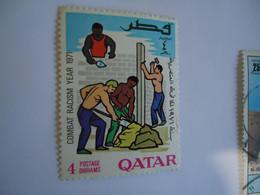QATAR   MNH   STAMPS  NO RASISM - Qatar