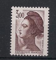 France - 1922 - N°Yv. 2243a - Liberté 3f Brun - Sans Phosphore - Neuf Luxe ** / MNH / Postfrisch - Varieties: 1980-89 Mint/hinged