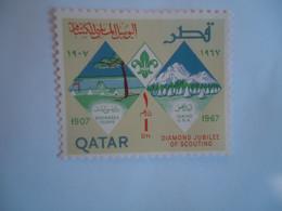 QATAR   MNH  STAMPS  SCOUTING - Qatar